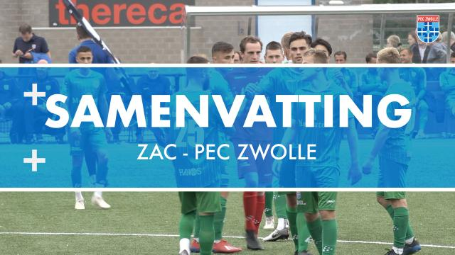 Samenvatting ZAC - PEC Zwolle