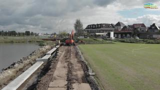 De fundamenten van de Wijde Wellen in Harderwijk