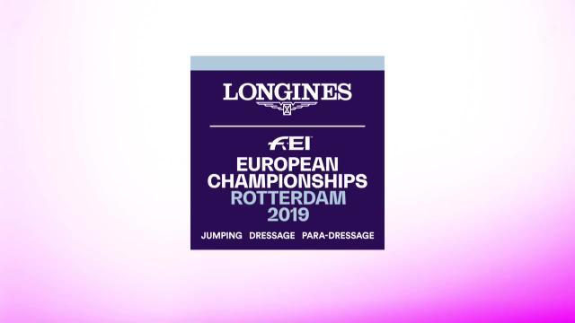 FEI European Championship Rotterdam 2019
