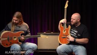 Fender Exotic Acoustasonic Stratocaster Cocobolo (follow up)