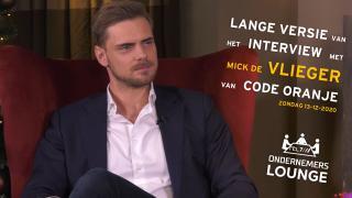 Ondernemerslounge (RTL7) | Mick de Vlieger van Code Oranje | LANG