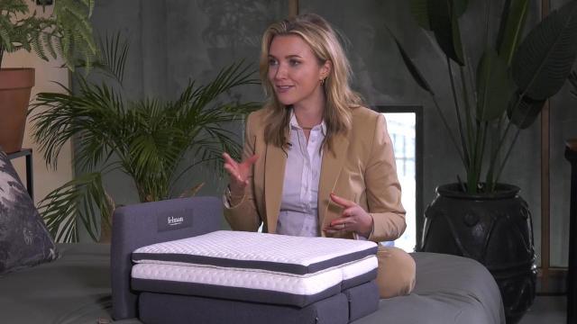 Ondernemerslounge (RTL7) | 3.3.02 | Laurien bij Felman Bedden