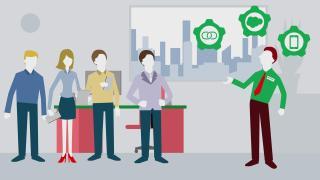 In 1 minuut laten zij u zien hoe Overhoff Telecom & ICT het adoptieproces versnelt