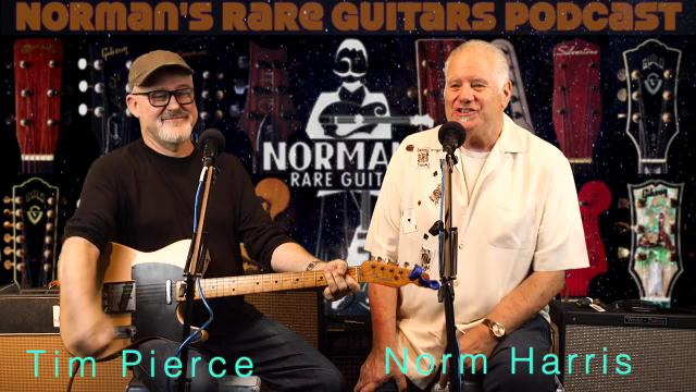 Tomorrow on AGN: Norm's Podcast:  LA Session Ace, Tim Pierce