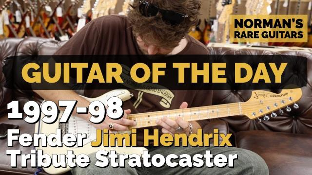 1997-98 Fender Jimi Hendrix Tribute Stratocaster
