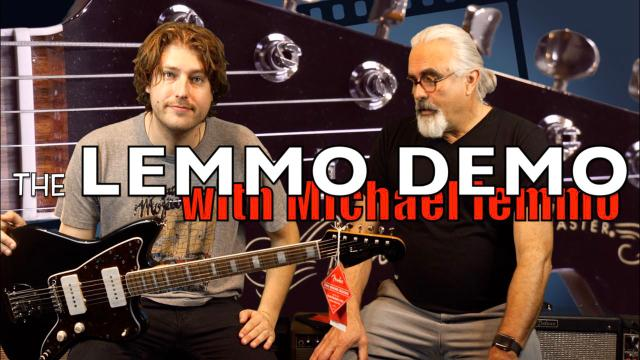 Lemmo Demo: Episode 4: 2018 Fender Jazzmaster.
