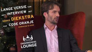 Ondernemerslounge (RTL7) | Sébas Diekstra van Code Oranje | LANG