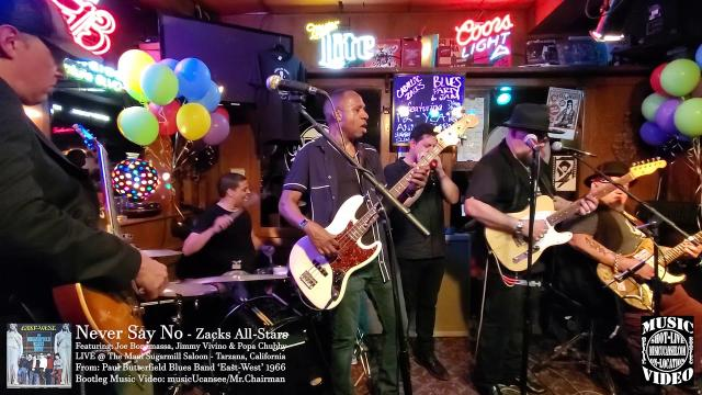 Never Say No - Jimmy Vivino, Joe Bonamassa & Popa Chubby - musicUcansee.com