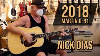 Guitar Of The Day: Nick Dias playing a 2018 Martin D-41 at Norman's Rare Guitars