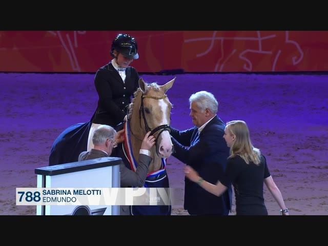 Prijsuitreiking, Finale Hengstencompetitie Gelders paard 2016/2017