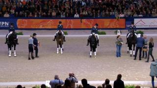 Presentatie Zilveren EK team Senioren