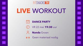 LIVE | Dance Party met Nanda Groen (22/5/2020)