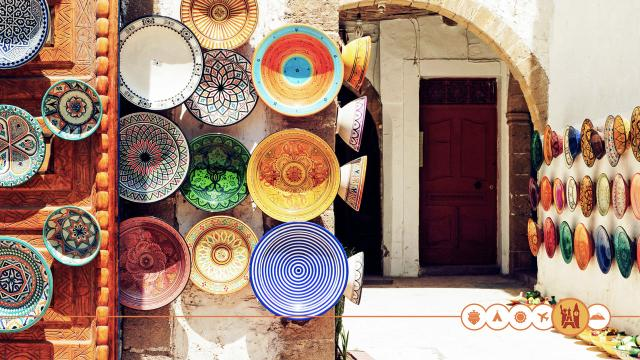 Kleurrijk Marokko