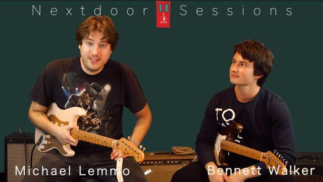 Michael Lemmo jams with 16 year old, Bennett Walker