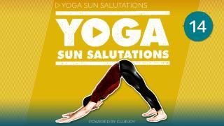 Yoga Sun Salutations 14