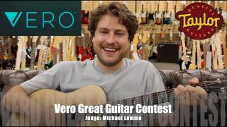Vero Great Guitar Contest_Michael lemmo 'Enter Now'  SONG.
