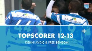 Topscorer 12-13 | Denni Avdic & Fred Benson