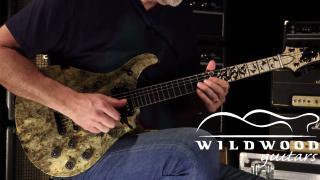 Wildwood Guitars • PRS Guitars Private Stock Buckeye Burl McCarty 594 • SN 190289473