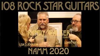 108 ROCK STAR GUITARS AT NAMM 2020: Randy Walker, Drum Tech, Guitar Tech & Body Guard