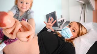 34 WK ZWANGER LiGGiNGSECHO VAN ONZE BABY BOY  | Bellinga Vlog #2101