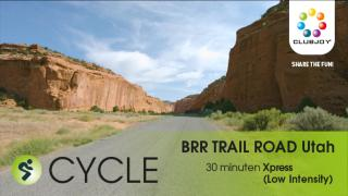 Cycle Road 66 BURR TRAIL ROAD Utah 30 min Low Intensity