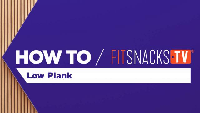 How To Low Plank