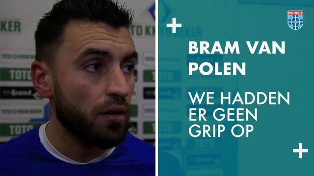Bram van Polen: 'We hadden er geen grip op.'