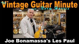 Joe Bonamassa's Les Paul