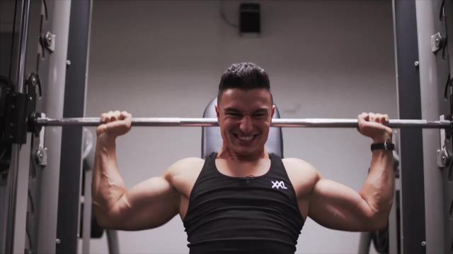 XXL basic workout | Train je schouders als een wedstrijdatleet!