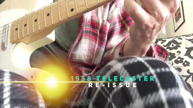 Thursday: 1958 Fender Telecaster re-issue