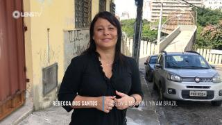 Helping street children in Brazil - Rebecca Dos Santos