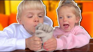 3D GiPS HANDEN MAKEN  | Bellinga Vlog #1721