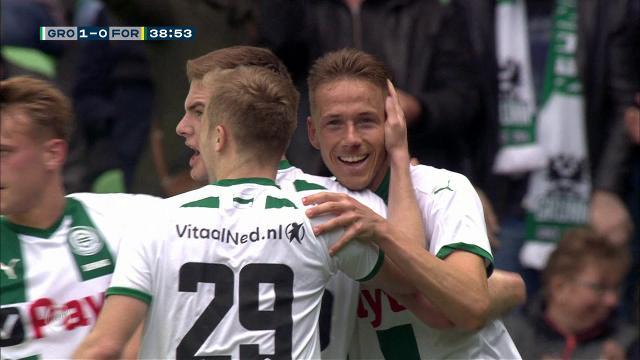 Samenvatting FC Groningen - Fortuna Sittard 3-0