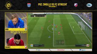 Samenvatting eDivisie PEC Zwolle - FC Utrecht
