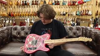 Guitar of the Day: 1994 Fender Pink Paisley Telecaster Made in Japan.