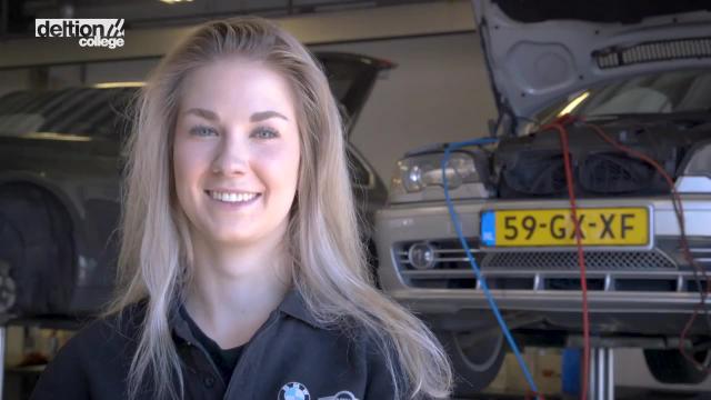 Eerste Autotechnicus: de stage (Ellen)
