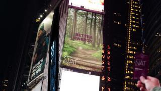 Prüvit in Times Square, NY!