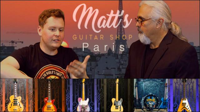 An Interview with Matt Lucas from Matt's Guitar Shop in Paris