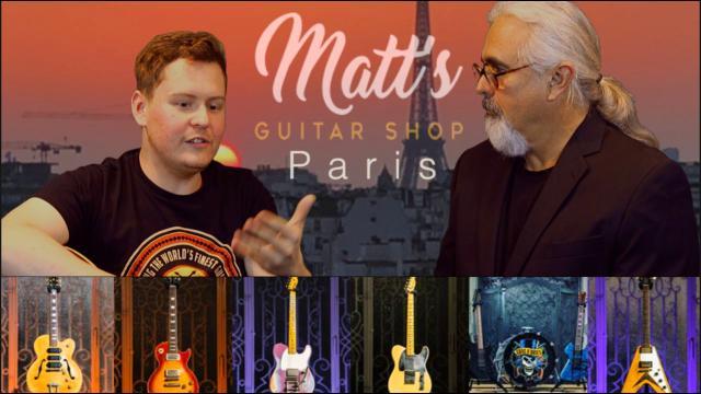 An Interview with Matt Lucas from Matt's Guitar Shop in Paris