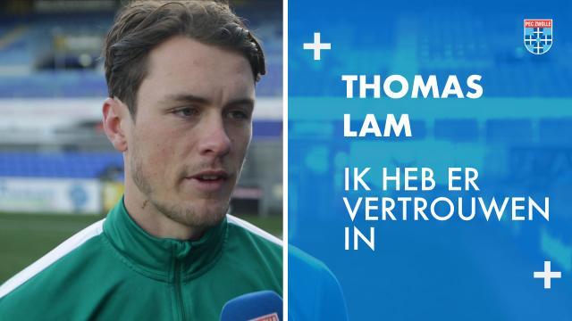 Thomas Lam: 'Ik heb er vertrouwen in.'