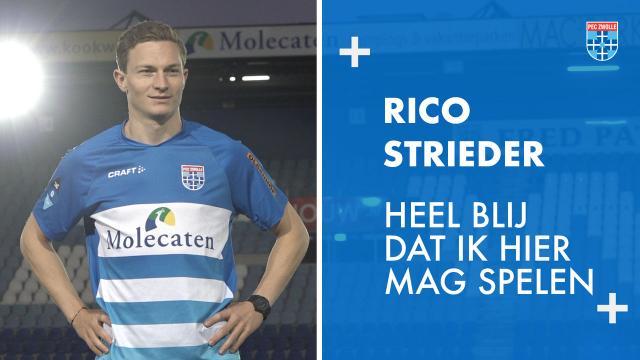 Rico Strieder versterkt PEC Zwolle.