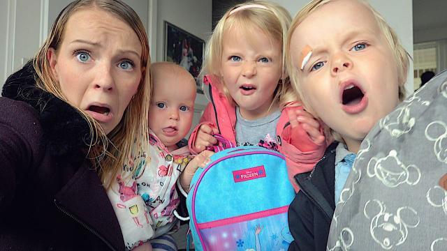OCHTENDROUTiNE OP 1E SCHOOLDAG NA DE VAKANTiE  | Bellinga Familie Vloggers #1362