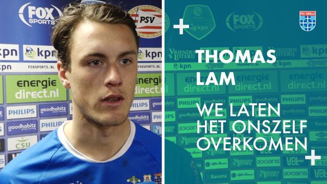 Thomas Lam: 'We laten het onszelf overkomen.'