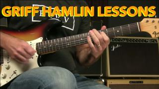 Griff Hamlin: Blues Guitar Lesson How To Play The Funky Rhythm From Tightrope By SRV