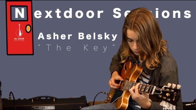 "Nextdoor Sessions: Asher Belsky; 'The Key""."