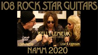 108 ROCK STAR GUITARS AT NAMM 2020: Kelly Lemieux