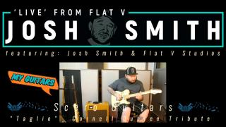 Josh Smith 'Live' From Flat V: My Guitars: Scero Guitars, Cornell Dupree Tribute Guitar