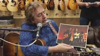 Joel Gilbert from the Highway 61 Revisited Band in Tribute to Bob Dylan