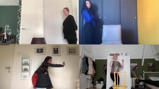 Dansen vanuit huis