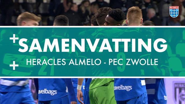 Samenvatting Heracles Almelo - PEC Zwolle